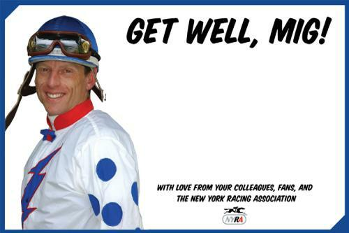 Get Well Card for Richard Migliore.