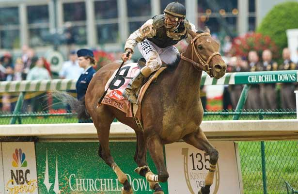 Derby Winners Funny Cide Mine That Bird Make Joint Appearance