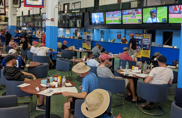 Monmouth Park enjoys combo of sports betting, horse racing