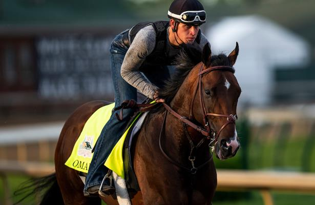 Kentucky Derby favorite Omaha Beach a proven crowd pleaser
