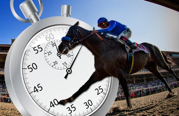 Did Game On Dude Run a Faster Pacific Classic than his Official Time Suggests?