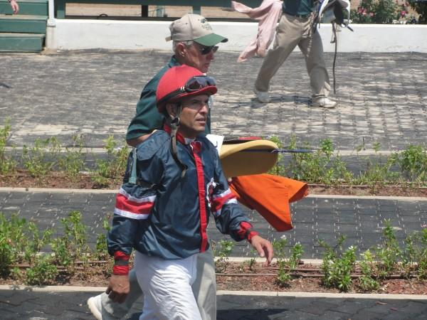 September 15, 2009: Patrick Valenzuela at Louisiana Downs.