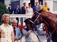 Secretariat's owner Penny Chenery