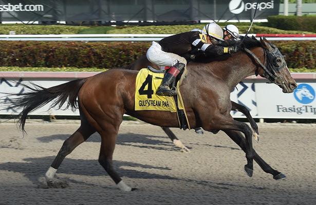 Pink Sands goes from last-to-first to take Gulfstream's Rampart