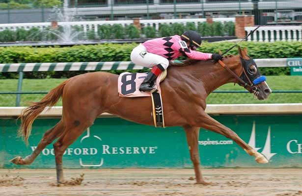 Power Broker wins at Churchill Downs on 5-10-13.