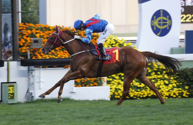 Rapper Dragon wins 2017 Hong Kong Classic Mile