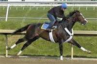 Sweetnorthernsaint works out at Laurel Park, four furlongs in 49.40, May 10, 2007.