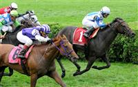Javier Castellano and Salve Germania (outside) blow past Rutherienne to capture the 2009 Ballston Spa (G2)