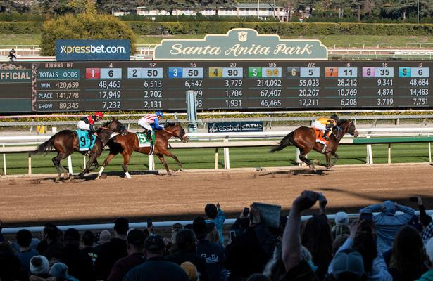 Transfer of Santa Anita race dates to Los Alamitos 'a stretch'