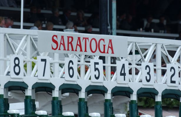 Saratoga starting gate 12-19-09