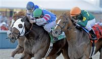 Schoolyard Dreams and Odysseus slug it out to the wire in the 2010 Tampa Bay Derby