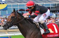 Shaman Ghost at the Queen's Plate at Woodbine Race Course in Toronto on July, 05, 2015