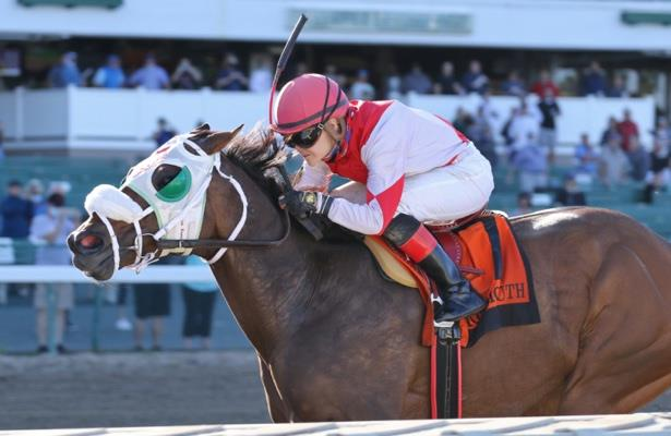 Peterson gets first stakes win aboard Share the Ride in Mr. Prospector