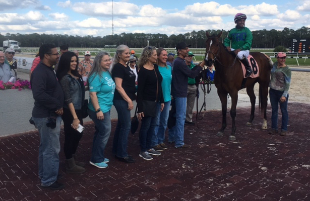 64-year-old rider lays foundation for upset Tampa Bay Downs winner