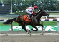Sovereign Default breaks maiden at Belmont Park (7-15-10).