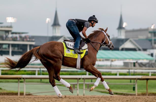 Spinoff's 'big work' leads Pletcher's Belmont Stakes prep