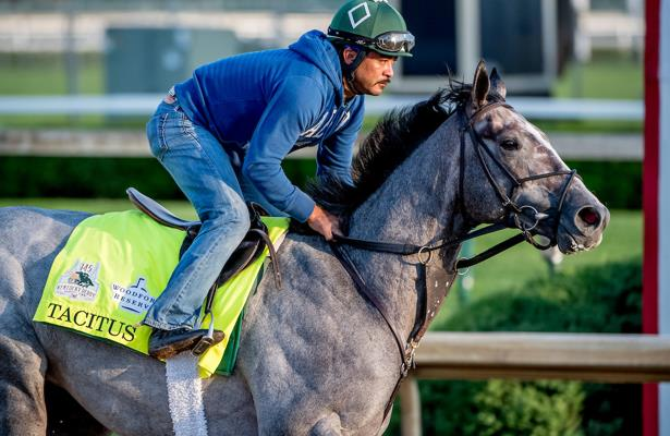 Tacitus 'went smoothly' in first work toward the Belmont Stakes