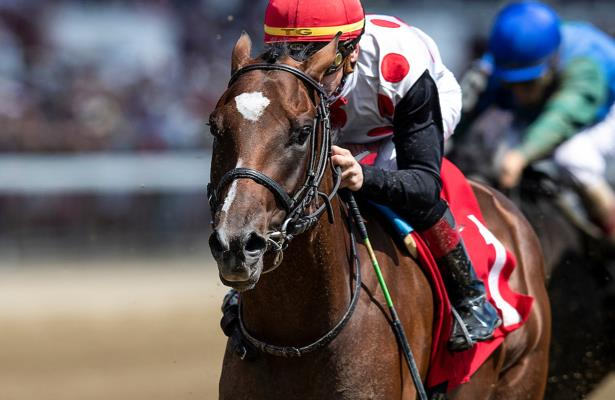 Tap It to Win goes under Belmont Stakes consideration