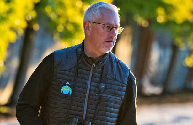Pletcher: 'Distance can help' More Glitter in Aqueduct's Tepin