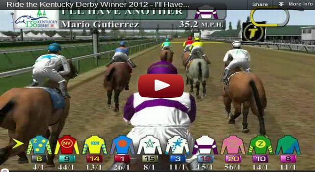 2012 Kentucky Derby - Trakus