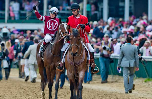 May 2, 2014: Untapable, ridden by Rosie Napravnik, wins the Kentucky Oaks on Kentucky Oaks Day at Churchill Downs in Louisville, KY. Scott Serio/ESW/CSM