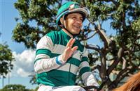 'Starting all over,' Victor Espinoza a runner-up in first race back