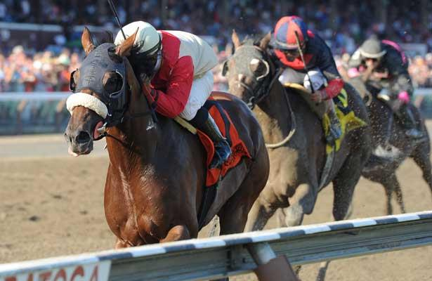 Wicked Strong wins 2014 Jim Dandy.