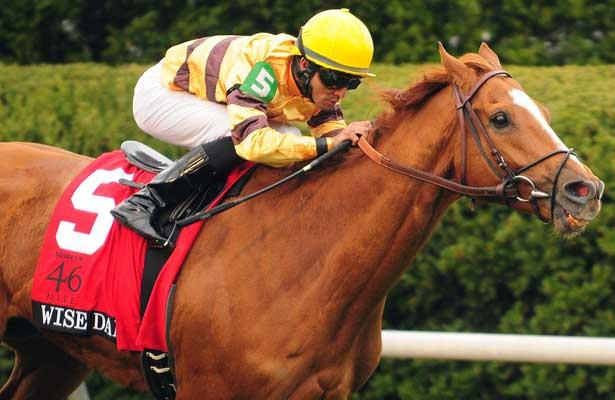 Wise Dan wins the Maker's 46 Mile at Keeneland with jockey Jose Lezcano for trainer Charles LoPresti aand owner Morton Fink;04-12-13.