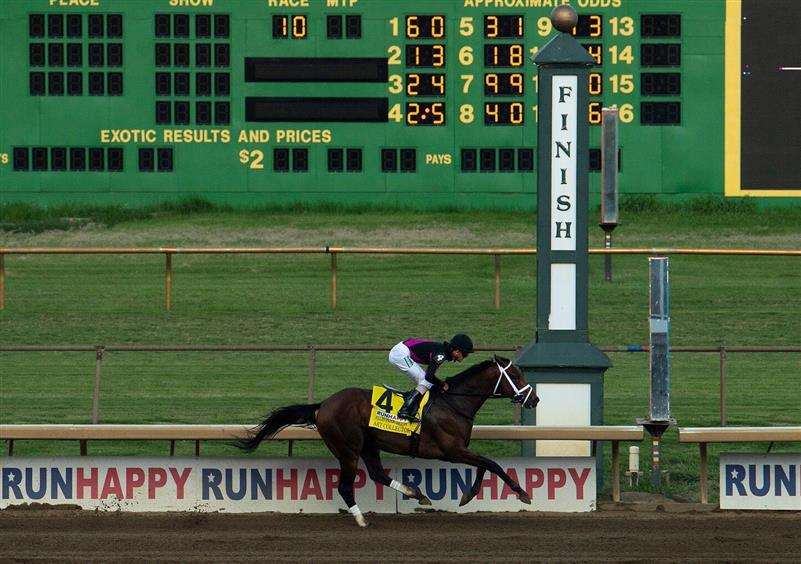 Return of Art Collector highlights Saturday's graded stakes works