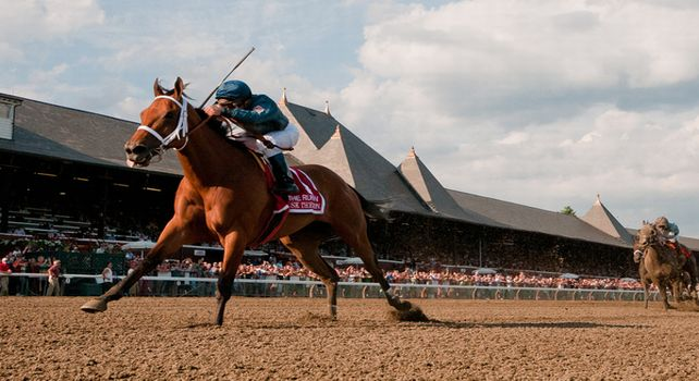 Ask The Moon, jockey Luis Saez up, wins the Ruffian Invitational Handicap on Ruffian Handicap Day at Saratoga Race Course in Saratoga Spring, New York on July 31, 2011