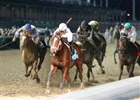 Gemologist wins the Kentucky Jockey Club