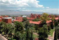 The University of Arizona campus in Tucson, Arizona