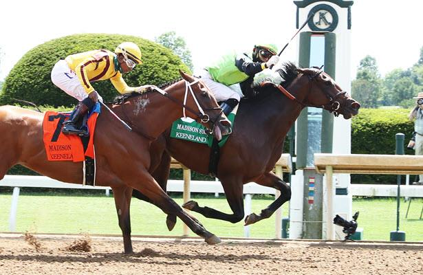 Guarana battles back to edge Mia Mischief in Madison