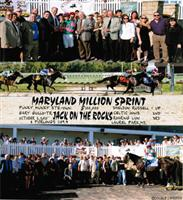 Jack on the Rocks Wins the Maryland Million Sprint Hdcp. Stake