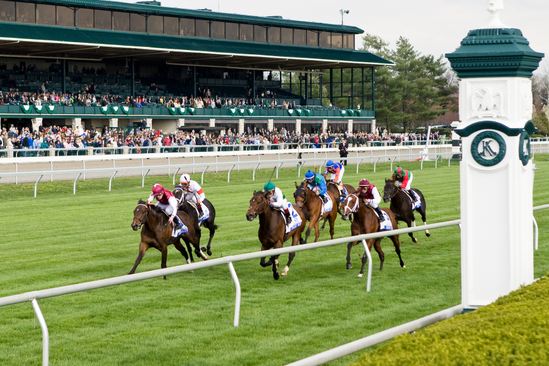 Stormalory wins the Translyvania at Keeneland