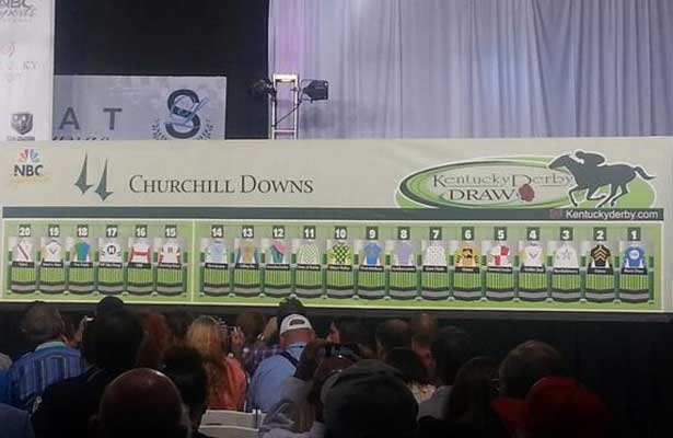 Kentucky Derby 2013 Post Position Draw Horse Racing Nation