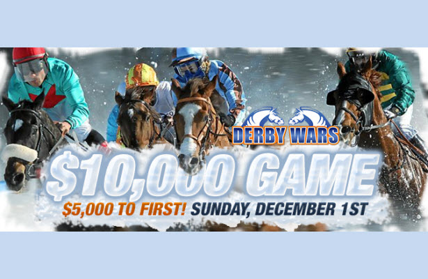 DerbyWars $10,000 Sunday Game