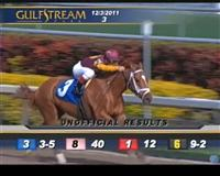 Discreet Dancer wins his debut at Gulfstream